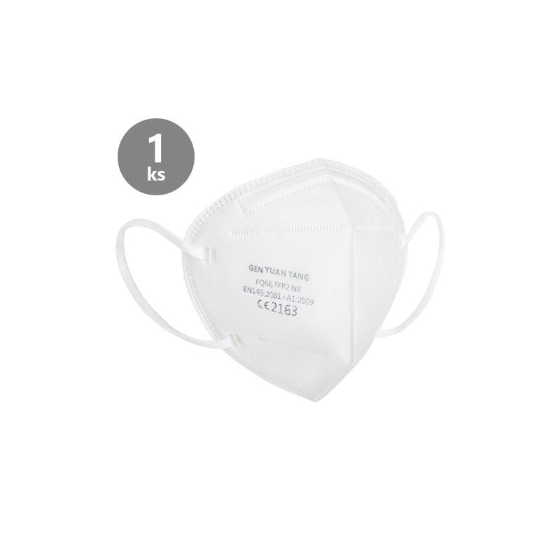 Ochranný respirátor CE2163 FFP2 - hygienicky balený po 1 ks