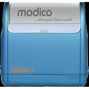 Modico 2 modré teleso pečiatky