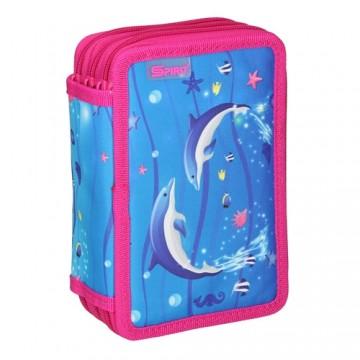 Peračník 3-poschodový/plný, Dolphins