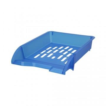 Zásuvka odkladacia A4 TTO - transparentná modrá