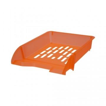 Zásuvka odkladacia A4 TTO - transparentná oranžová