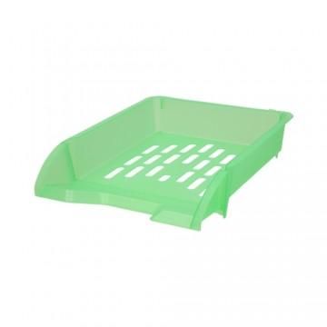 Zásuvka odkladacia A4 TTO - transparentná zelená