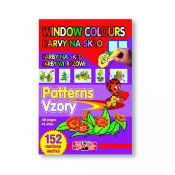 Farba na sklo KOH-I-NOOR šablóny