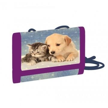 Detská textilná peňaženka maznáčikovia