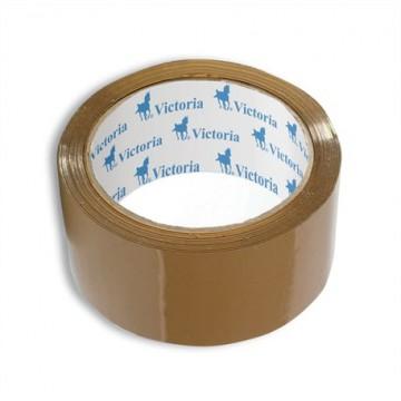Baliaca páska 50 mmx 60 m, VICTORIA hnedá, 1 ks