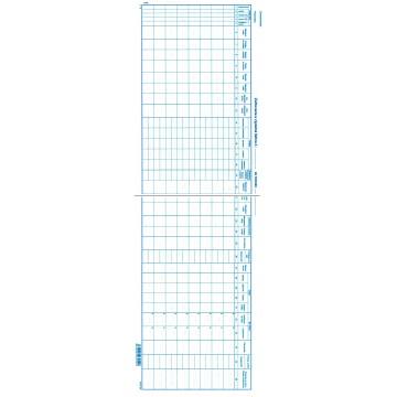 Výplatná listina 60x21 cm
