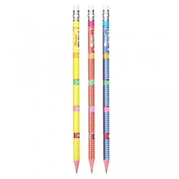 """Grafitová ceruzka s gumou HB """"Matematika"""""""