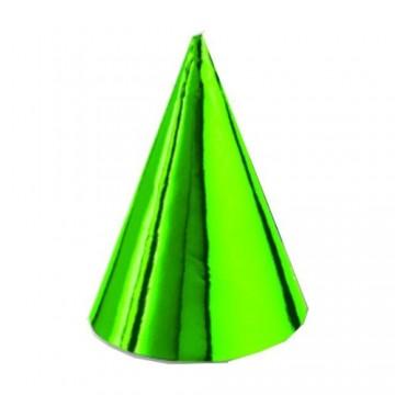 Klobúčiky papierové farebné (6 ks v bal.)