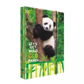 Box na zošity A4 Jumbo Geo Wild Panda