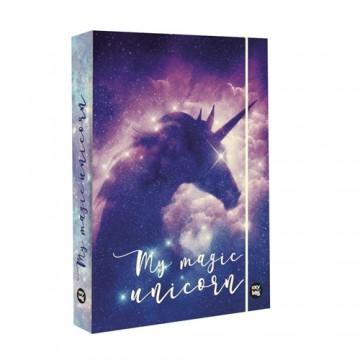 Box na zošity A4 Jumbo Unicorn Dream