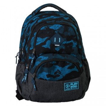 Školský batoh Axor, Army Blue
