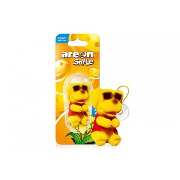 Areon Smile Toy Vanilla - Zlty pes