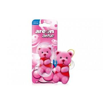 Areon Smile Toy Bubble Gum - Ruzovy macko
