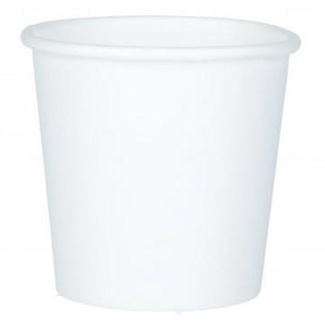 Papierový pohár 100 ml/10 ks Biely