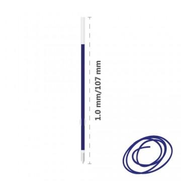 Náplň guľôčková MILAN P1 Touch 1,0 mm - modrá