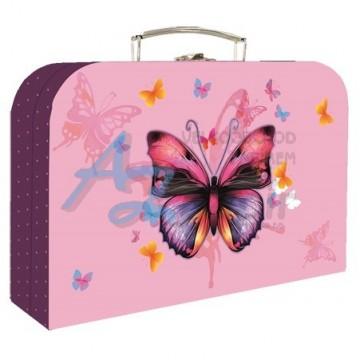Kufrík lamino 34 cm Motýľ