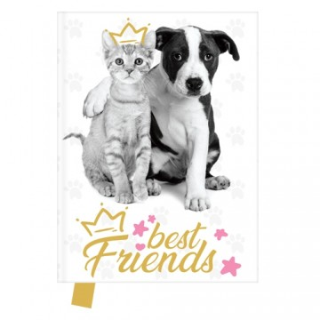 Pamätník 14x18 cm, 80 l., čistý - Best Friends