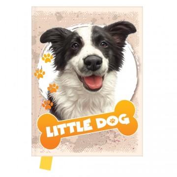 Pamätník 14x18 cm, 80 l., čistý - Little Dog