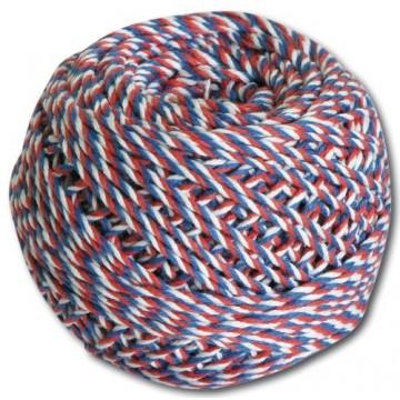 Motúz trikolóra biela/modrá/červená 40 g