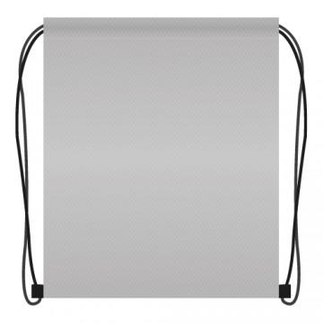 Vrecko na prezuvky 41x34 cm - sivé