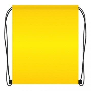 Vrecko na prezuvky 41x34 cm - žlté