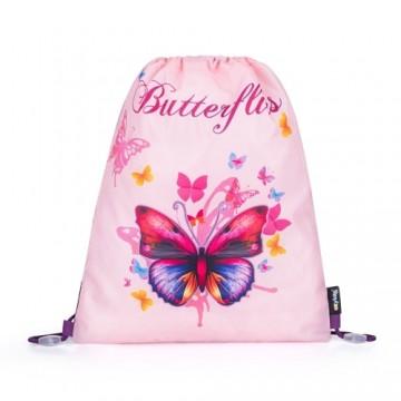 Vrecko na cvičky Motýľ