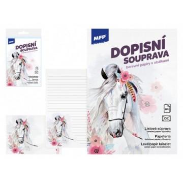 Listový papier farebný LUX 5+10 (Kôň)